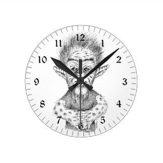 Fancy Troll Wall Clock