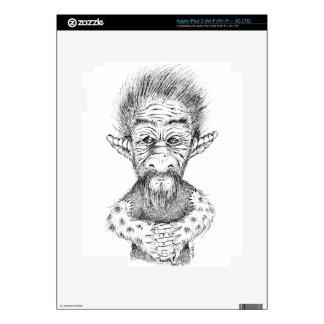 Fancy Troll iPad 3 Decal