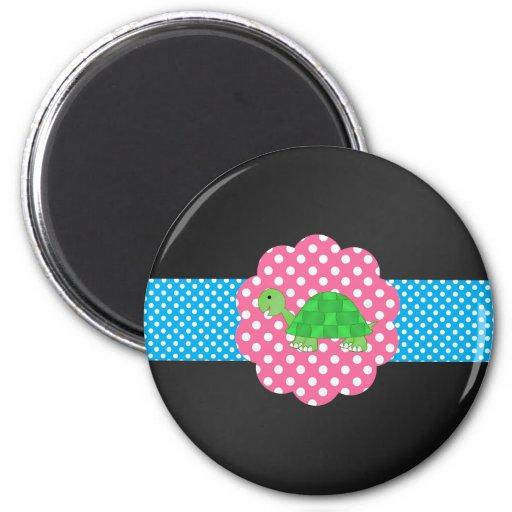 Fancy turtle magnets