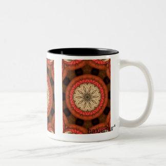 Fancy Two-Tone Coffee Mug