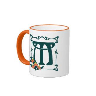 Fancy letter m coffee travel mugs zazzle - Fancy travel coffee mugs ...