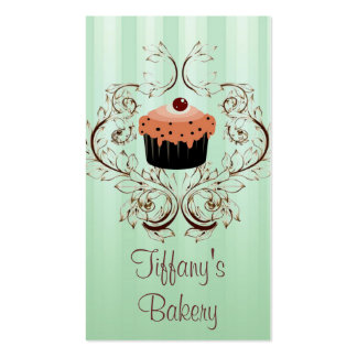 Fancy Vintage Victorian Bakery Business Boutique Business Card