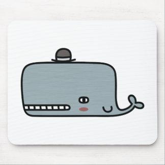 Fancy Whale Mouse Pad