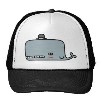 Fancy Whale Trucker Hat