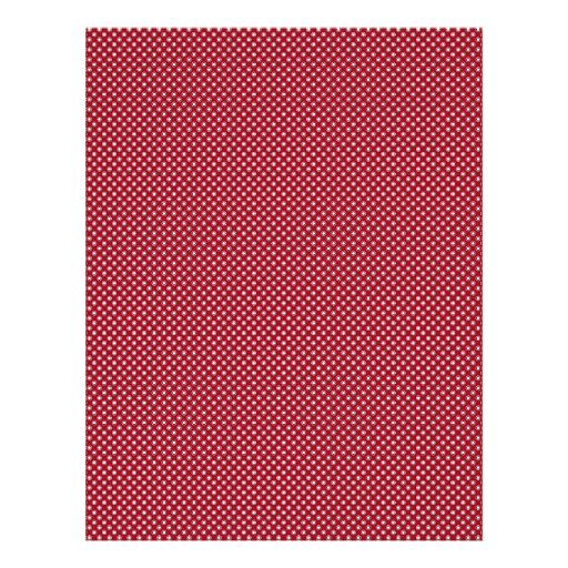 Fancy white circles on red background flyer design