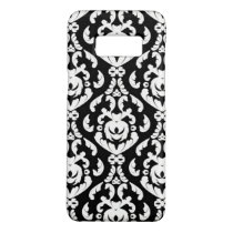 Fancy White Damask Custom Color Case-Mate Samsung Galaxy S8 Case