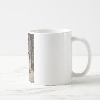 Fancy White Egret Coffee Mug