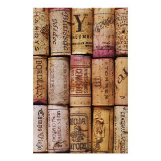 Fancy Wine Corks Stationery