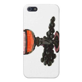 Fancy Wine & Grapes iPhone SE/5/5s Case