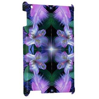 fancyflowerfeather star i-pad case glossy finish