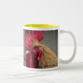 Fancypoultry rooster yellow mug