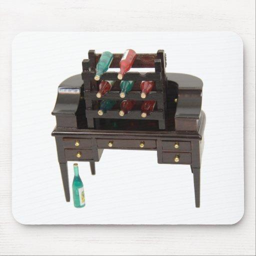 FancyWineRack052109 Mouse Pad