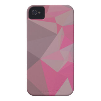 Fandango Pink Abstract Low Polygon Background iPhone 4 Case