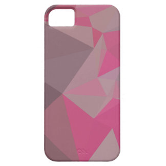 Fandango Pink Abstract Low Polygon Background iPhone SE/5/5s Case