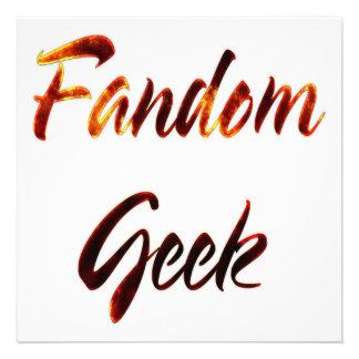 Fandom Geek Fire Invite