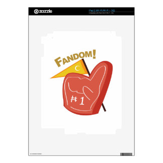 Fandom Decals For The iPad 2