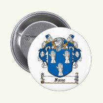 Fane Family Crest Button