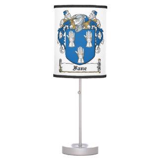 Fane Family Crest Lamp