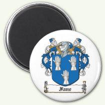 Fane Family Crest Magnet