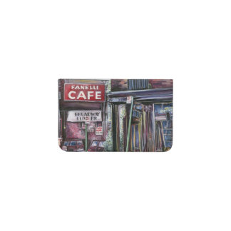 Cafe business card holders cases zazzle fanelli charm new york city business card holder reheart Image collections