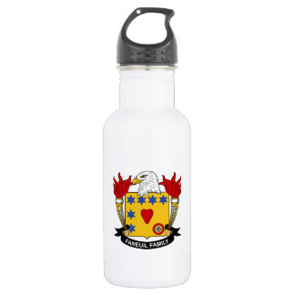 Faneuil Family Crest 18oz Water Bottle