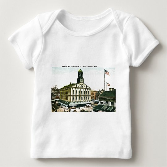 Faneuil Hall, Boston, Massachusetts Baby T-Shirt