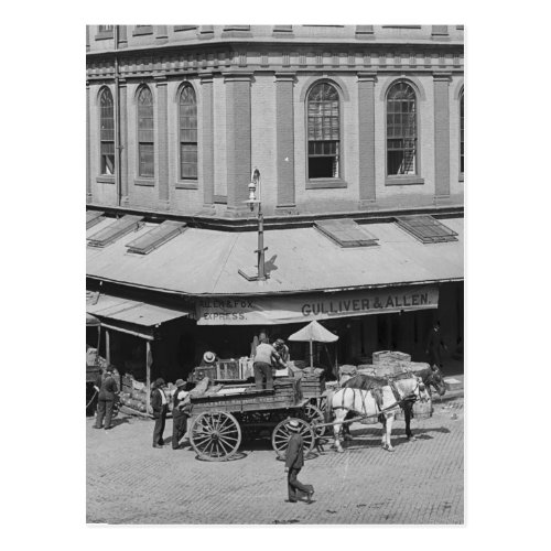 Faneuil Hall Postcard