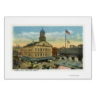 Faneuil Hall View, the Cradle of Liberty Card