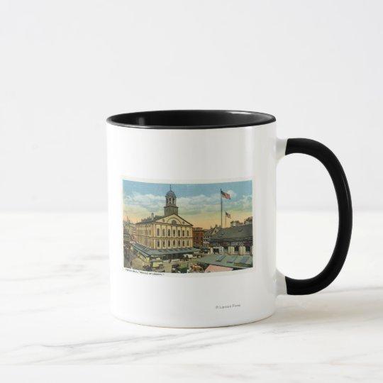 Faneuil Hall View, the Cradle of Liberty Mug