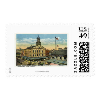 Faneuil Hall View, the Cradle of Liberty Postage