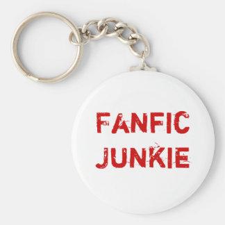 Fanfic Junkie Keychain