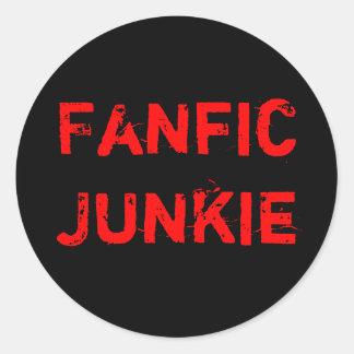 Fanfic Junkie Stickers