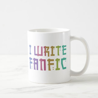 Fanfic Pride Classic White Coffee Mug