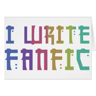 Fanfic Pride Greeting Cards
