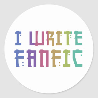 Fanfic Pride Sticker