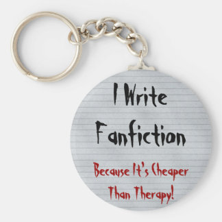 Fanfiction Cheaper Than Therapy Keychains
