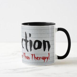 Fanfiction Cheaper Than Therapy Mug