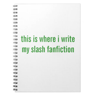 fanfiction de la raya vertical notebook