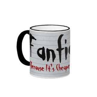 Fanfiction más barato que terapia taza de café