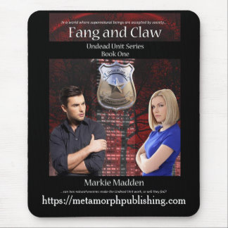 Fang and Claw mouse pad