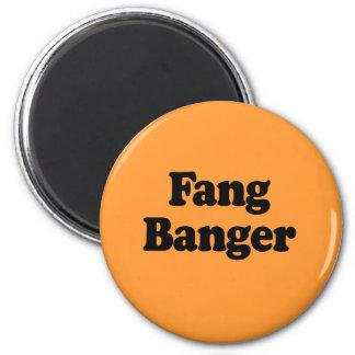 Fang Banger 2 Inch Round Magnet