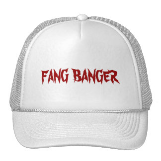 FANG BANGER TRUCKER HAT