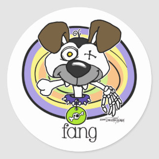 Fang Bite - Halloween stickers