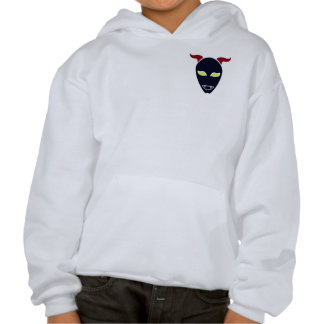 Fang Demon Hooded Pullover