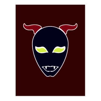 Fang Demon Postcard