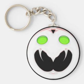Fang Face Smiley Keychain