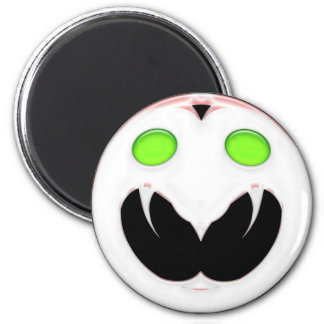 Fang Face Smiley Magnet