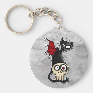 fang kitty keychain