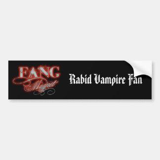 Fang Magnet Bumper Sticker