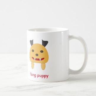 Fang puppy basic white mug